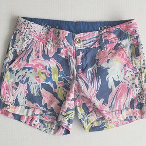 Lilly Pulitzer Women's Size 00 Shorts The Callahan